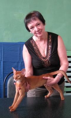 Mrs. Olga Belyaeva - All Breed Judge (Russia)